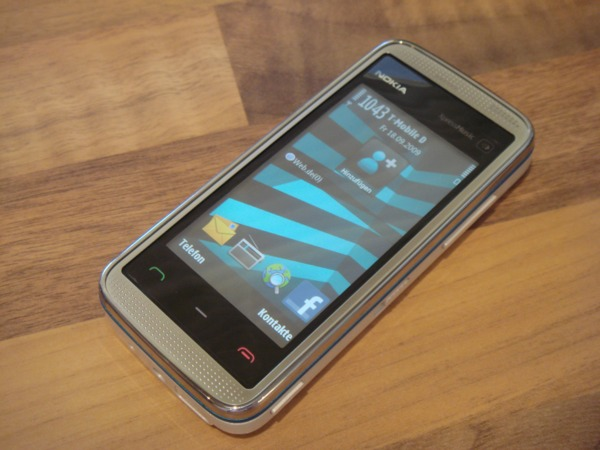 TEST Mobiltelefon Nokia 5530 XpressMusic - Musikgenuss mit 3,2 MP